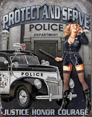Protect And Serve Sexy Police Woman