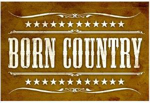 Proud to be Born Country Art Print Poster