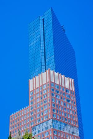 Prudential Building in background, Boston, Ma., USA