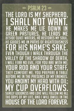 Psalm 23 Prayer