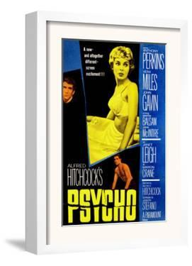 Psycho, Anthony Perkins, Janet Leigh, John Gavin, 1960