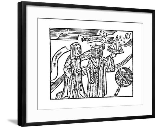 Ptolemy at Work--Framed Giclee Print