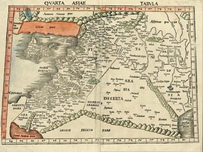 Israel and Arabia by Ptolemy