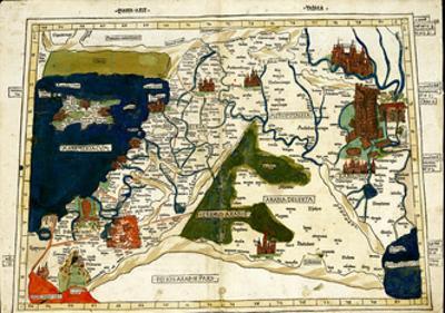 Israel, Palestine by Ptolemy