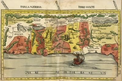 Map of the Holy Land by Ptolemy