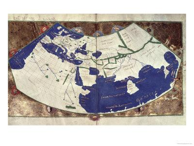 Map of the Known World, from Geographia