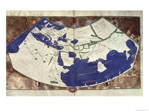 Map of the Known World, from Geographia by Ptolemy