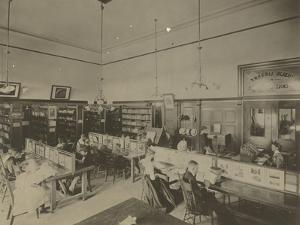 Public Reading Rooms at the Public Library, Los Angeles, CA, C.1905