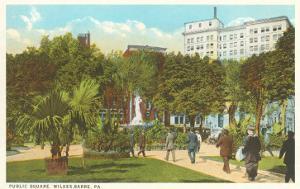 Public Square, Wilkes-Barre, Pennsylvania