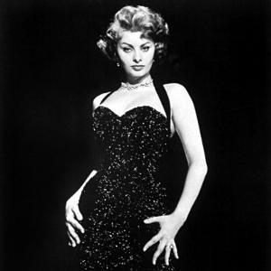 Publicity Shot of Sophia Loren Used to Promote Pride and the Passion, 1957
