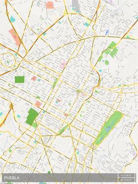 Puebla, Mexico Map