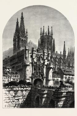 Puerta De Santa Maria, Burgos, Spain, 19th Century
