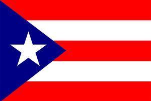 Puerto Rico National Flag Poster Print