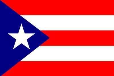 Puerto Rico National Flag
