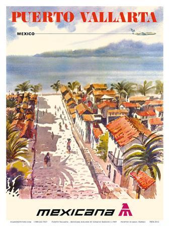 Puerto Vallarta, Mexico - Mexicana Airlines