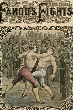 Fight Between Dick Curtis and Jack Perkins, 1828 by Pugnis