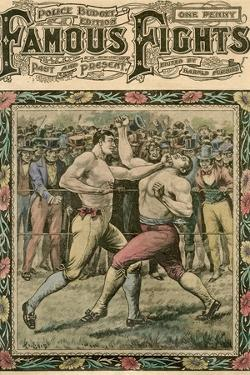 He Caught Tom a Smack under the Chin, Late 19th or Early 20th Century by Pugnis