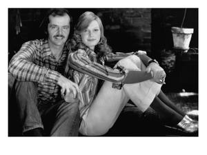 Glamour - January 1973 - Jack Nicholson and Fashion Model by Puhlmann Rico