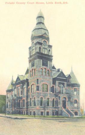 Pulaski County Courthouse, Little Rock, Arkansas
