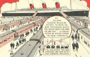 Pullman Sleepers vs. Queen Mary
