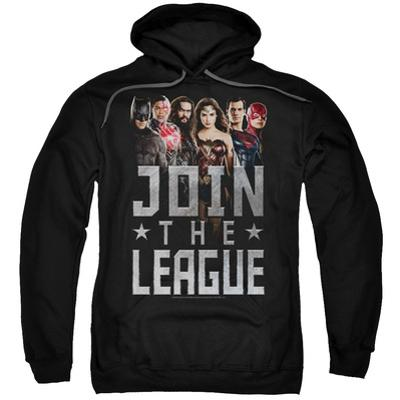 Pullover Hoodie: Justice League Movie - Join The League