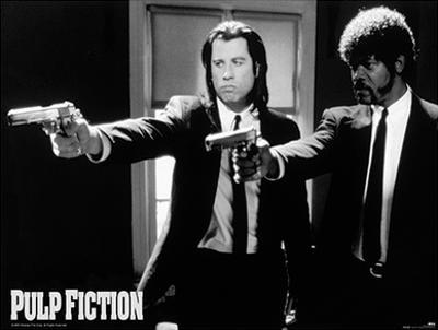 Pulp Fiction (Guns) Movie Poster Print