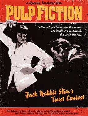 Pulp Fiction - Twist Contest Movie Poster