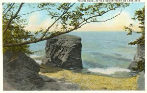 Pulpit Rock, Lake Erie, New York