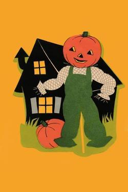 Pumpkin Headed Scarecrow