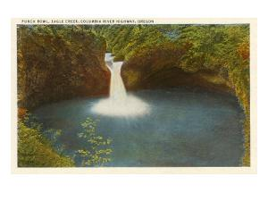 Punch Bowl, Eagle Creek, Columbia River, Oregon