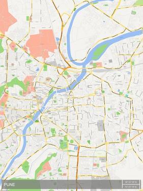 Pune, India Map