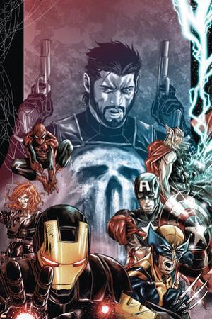 Punisher: War Zone No. 2: Punisher, Iron Man, Wolverine, Captain America, Black Widow, Spider-Man