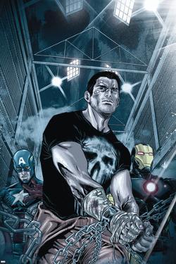 Punisher: War Zone No. 5: Punisher, Captain America, Iron Man