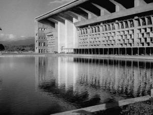 Punjab High Court Building, Designed by Le Corbusier