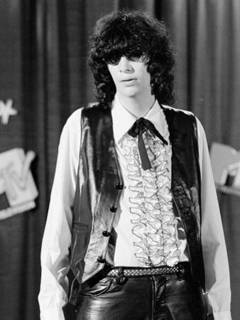 Punk Rock Singer Joey Ramone of The Ramones