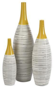 Puno Glazed Vase Set