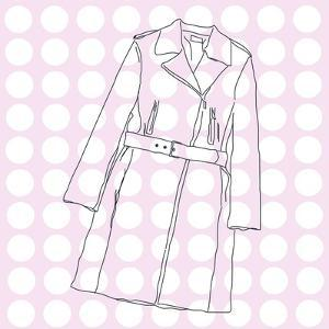 Pink Trench by Puntoos