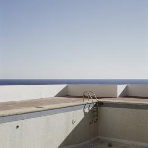 Abandoned Empty Swimming Pool Next to Sea, Ibiza, Spain, Europe by Purcell-Holmes