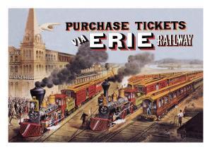 Purchase Tickets Via Erie Railway