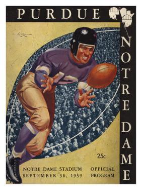 Purdue vs. Notre Dame, 1939