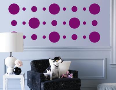 Purple Circles