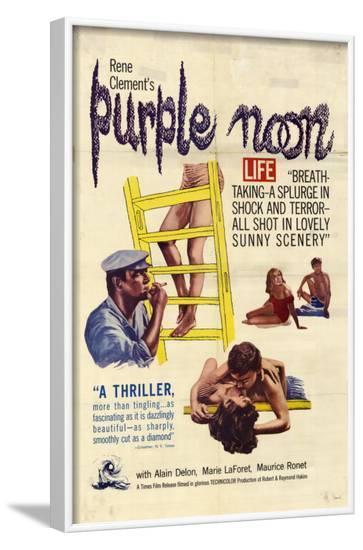 Purple Noon, 1964--Framed Art Print