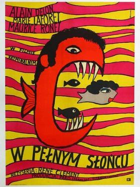Purple Noon, Polish Movie Poster, 1964