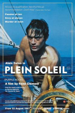 Purple Noon, UK Movie Poster, 1964