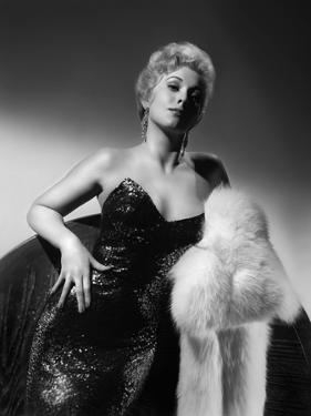 PUSHOVER, 1954 directed by RICHARD QUINE Kim Novak (b/w photo)