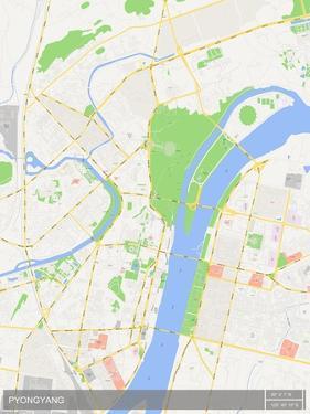 Pyongyang, Korea, Democratic People's Republic of Map