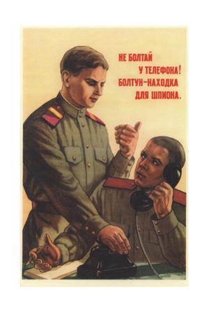 Don't Chatter by the Telephone! by Pyotr Semyonovich Golub