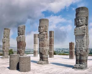 Pyramid Top Tula De Allende