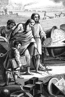 Pythagoras, Ancient Greek Mathematician and Philosopher, 6th Century BC
