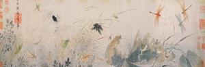 Early Autumn (Ink and Colours on Paper) by Qian Xuan